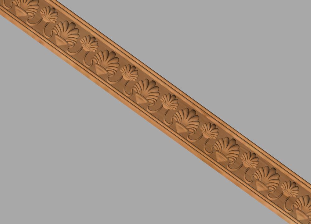 Код М14. Деревянный резной декор для мебели. Молдинг