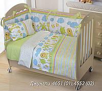 """Защита в детскую кроватку """"Джунгли"""""""