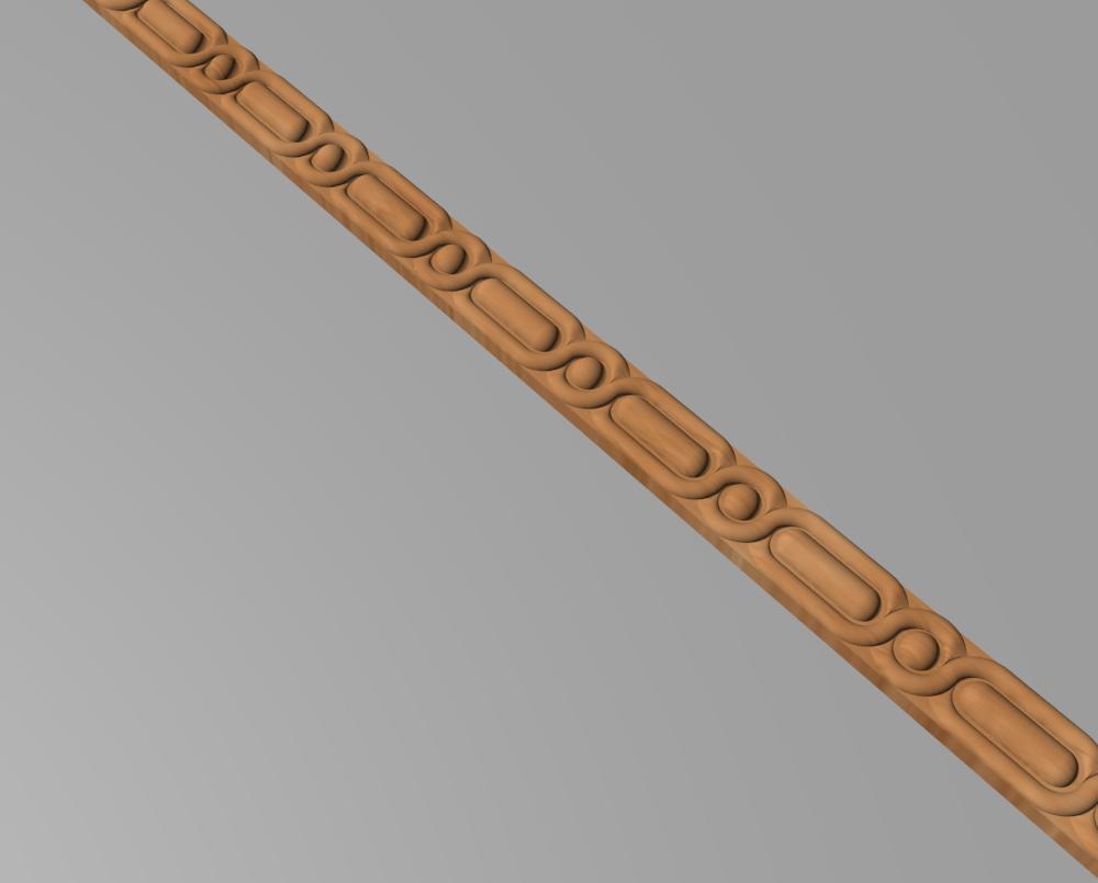 Код М17. Деревянный резной декор для мебели. Молдинг, багет