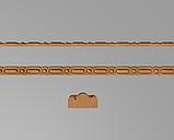 Код М17. Деревянный резной декор для мебели. Молдинг, багет, фото 2