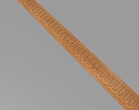 Код М18. Деревянный резной декор для мебели. Молдинг, погонаж