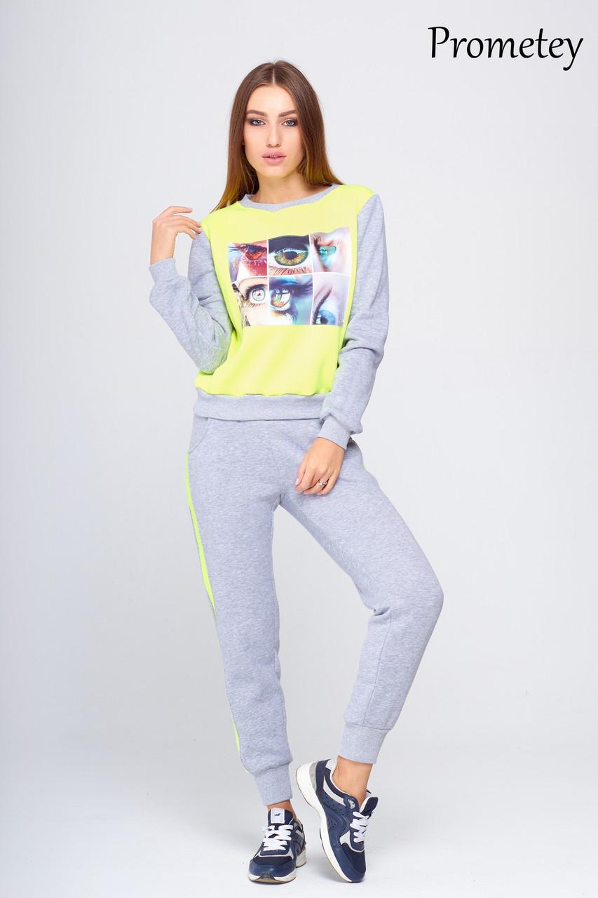 Утепленный спортивный костюм Прометей - DS Moda - женская одежда оптом от  производителя в Харькове db2e10114ca