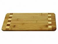 Доска разделочная из бамбука 34*16*1,8см Borner
