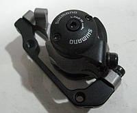 Калипер дискового тормоза супорт машинка SHIMANO BR-M495
