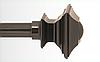 Декоративный наконечник Борджеза для кованого карниза 19 мм.