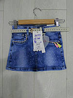 Детская джинсовая юбка GRACE оптом