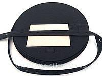 Резинка перфорированая черная 2см ширина 30м в рулоне