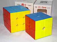 "Набор цветных кубиков Рубика ""2+3"" от QiYi (кубик-рубика MoFangGe)"