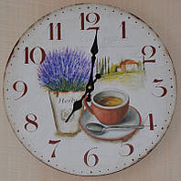 Настенные часы для кухни (34 см.)