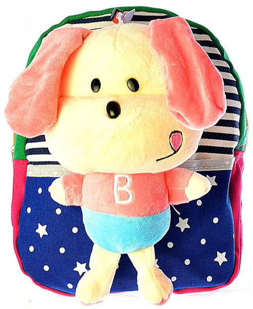 "Детский рюкзак игрушка ""Собачка"" 0530"
