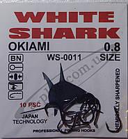Крючок рыболовный / OKIAMI / №0.8 / White Shark