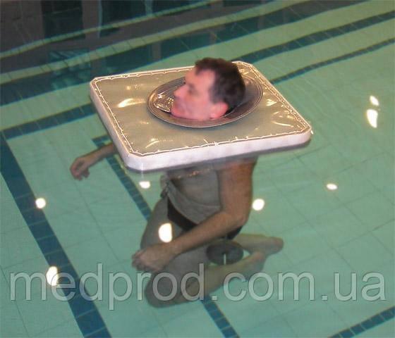 Поплавок устройство для подводного вытяжения тракции шейного отдела позвоночника с поясом