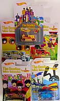 Машинка металлическая Hot Wheels The Beatles Yellow Submarine DML69 Mattel Китай