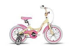 "Велосипед 16"" PRIDE ALICE бежевый матовый 2016"