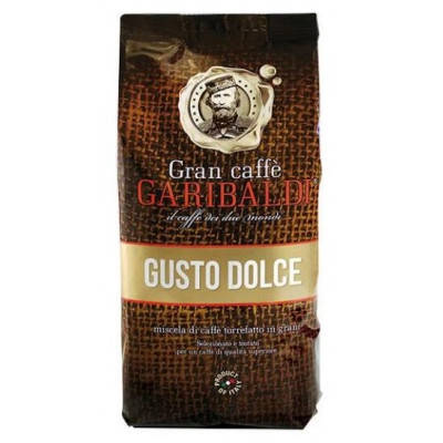 Кофе в зернах Garibaldi Gusto Dolce 1000 грамм