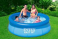 Надувной бассейн Intex, 244 х 76 см