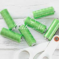 Нитки швейные 40s/2 (200 м) цвет зеленое яблоко