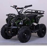 Двухместный детский квадроцикл Profi HB-EATV 800N-10 (Зеленый Камуфляж)