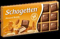 Шоколад Schogetten Almond Brittle с миндалем (Шогеттен), 100 гр