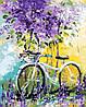Картина по номерам Mariposa Велосипед в зарослях лаванды Q-765