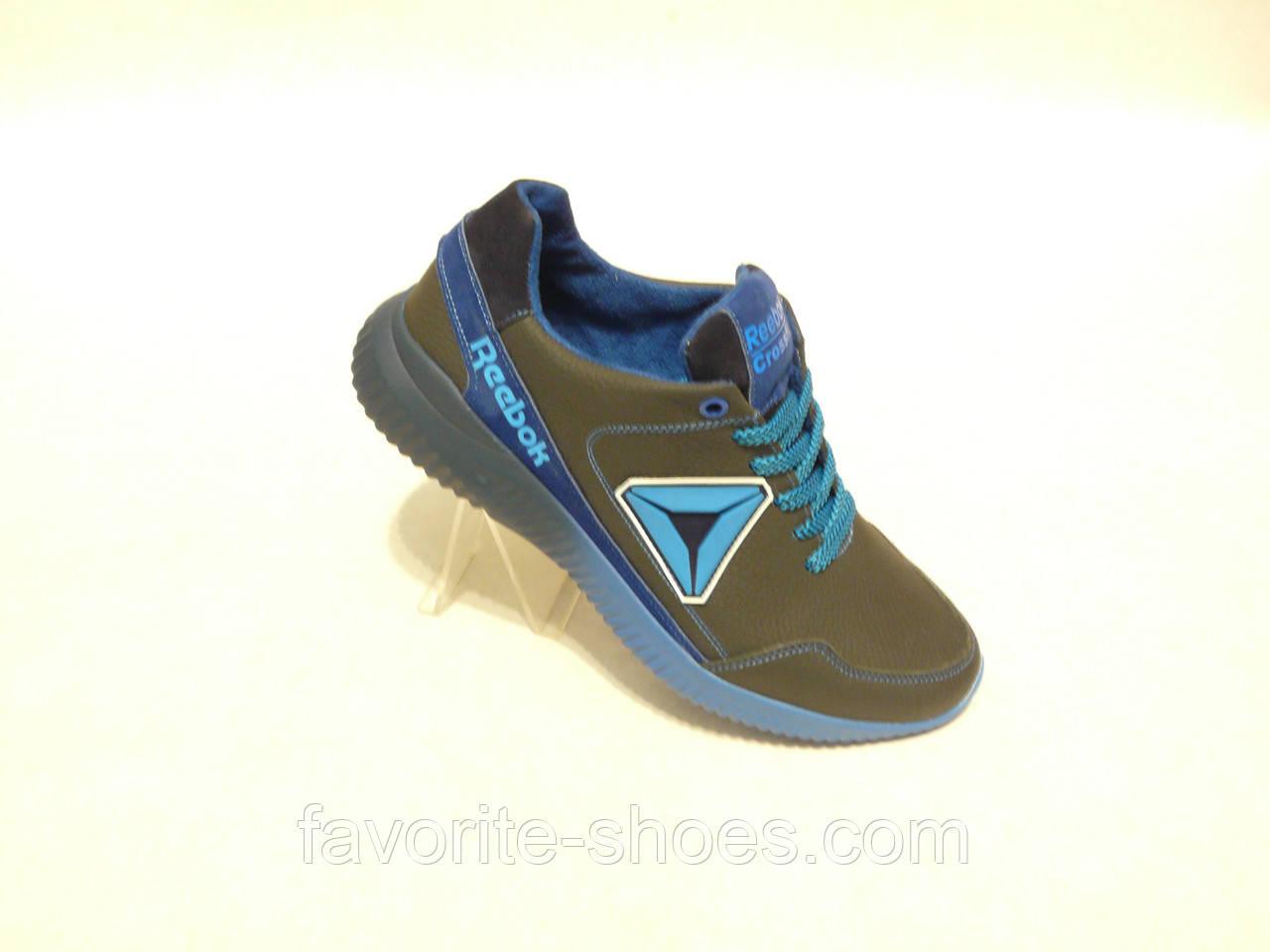 a5820ba62 Кожаные мужские кроссовки REEBOK син 40,42,44р.: продажа, цена в ...