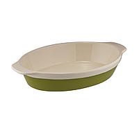 Granchio Natura Oliva Green Ceramica Форма для выпечки 33*21 см