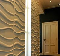 Декор стен 3D панели - эксклюзивный дизайн