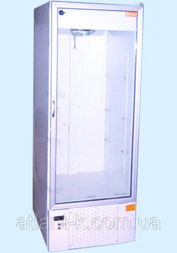 Шафа холодильна ШХС-0.5, 450л, (0..+8), зі скляними дверима