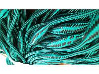 Шнур плавающий для посадки сетей плетеный( 3 поплавка на 1 метр)