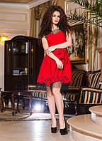 Шикарное платье с сеточкой