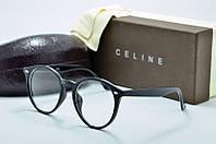 Оправа круглая Celine черная