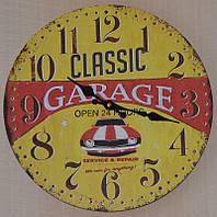 Настінний годинник ретро (34 см.), фото 1