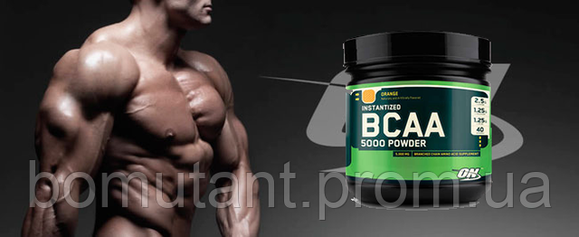 красивое тело с bcaa от optimum nutrition 5000 powder 380гр