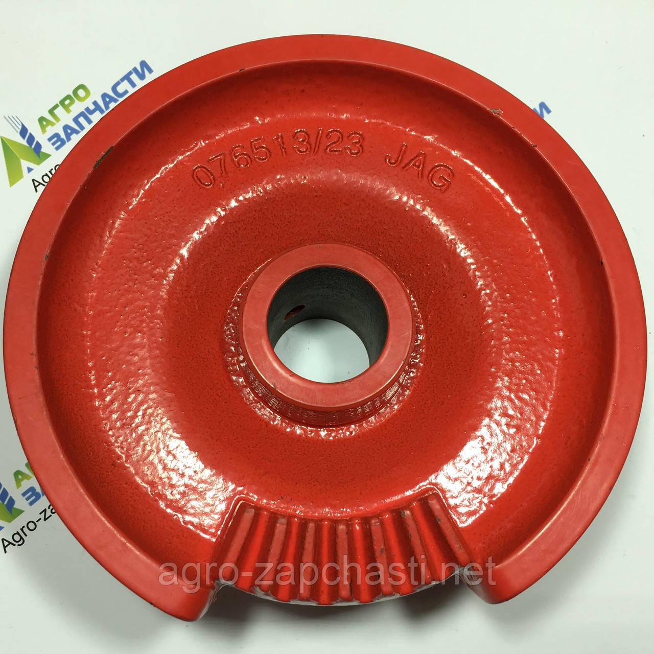 Тарелка (диск) вязального аппарата пресс-подборщика Welger AP 41,45,51,61, d35мм, z7 (7 зубьев)