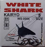 Крючок рыболовный / KAIRYO / №5 / White Shark
