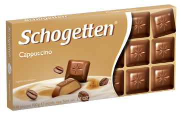 Шоколад Schogetten Cappuccino капуччино (Шогеттен), 100 гр