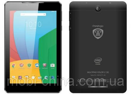 Планшет Prestigio MultiPad Color 2 PMT3777 7'' 8GB 3G Black