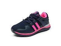 Детская спортивная обувь кроссовки р.31-36 Clibee:K-161 Синий+Малиновый