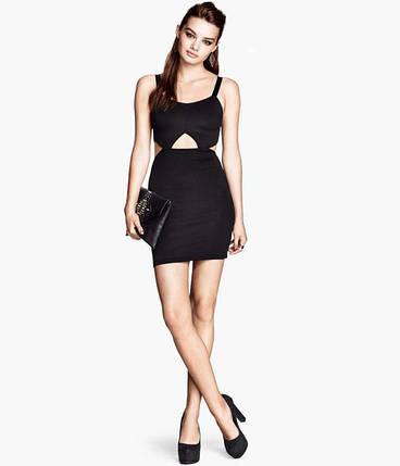 Облегающее платье с вырезами H&M, фото 2