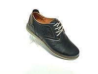 Кожаные мужские туфли конфорт Levis 43 размер., фото 1