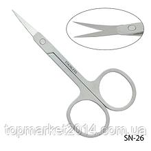 НОЖИЦІ МАНІКЮРНІ SN-26 для обрізання нігтів