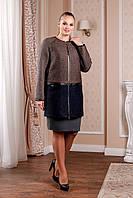 Женское  демисезонное пальто    В-995 Тон 102/106 44-58 размер