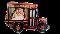 Магнитная фоторамка Школьный автобус
