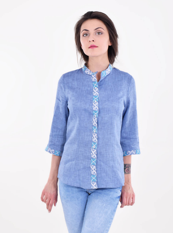 "Блуза  вышиванка "" Везение "", фото 2"