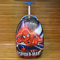 """Чемодан детский каркасный на колесах SPIDER MAN размеры (45x30 см) Серии """" TRAVEL """""""