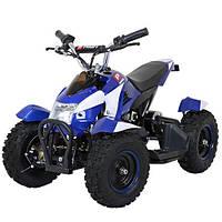 Одноместный Детский Электро-квадроцикл Profi HB-6 EATV800B-4-1 с Фарой Синий