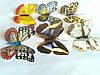 Декоративные бабочки на липучке 6шт большие, фото 7