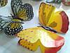 Декоративные бабочки на липучке 6шт большие, фото 8