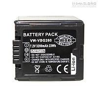 Аккумулятор для видеокамеры Panasonic VW-VBG260, 3200 mAh., фото 1
