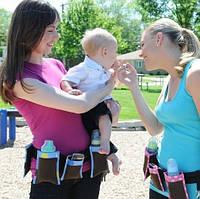 Пояс с карманами для мам Waist Diaper Bag, сумка для мамочек, прогулочная сумки для мам, сумка для мамы